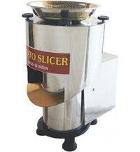 1 HP Potato slicer machine Capacity:- 100-150 Kg/hr