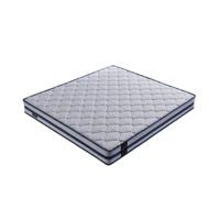 Knitted Cotton Inside Bed Pocket Spring Bed Mattress