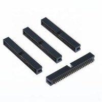 S12-11050-00 DIP 2.54 mm 180 Degree 50 Pin Box Header PCB Connector