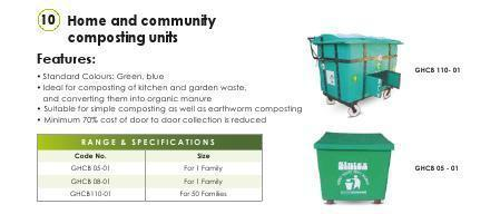 Home & Community Composting Units