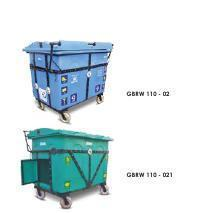 Giant Wheeled Waste Bin