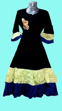 Ruffel Gown