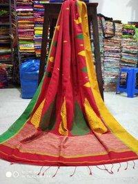 Bengal pure khadi  handloom saree
