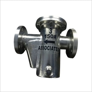SS Fabricated Pot Type Strainer