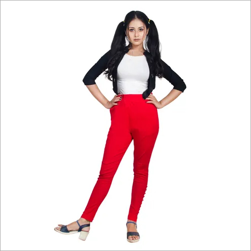 Cotton Stretchable Pencil Pant