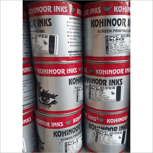 PVC Super Black Screen Printing Ink
