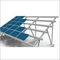 Street Solar Mounting Structure