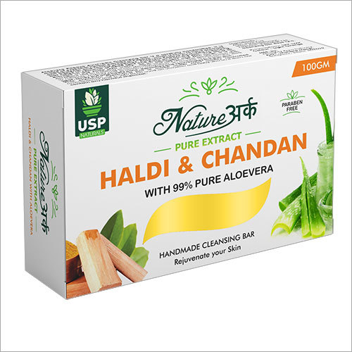 Haldi And Chandan Cleansing Soap