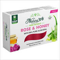 Rose And Honey Cleansing Soap