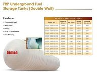 FRP Underground Fuel Storage Tanks ( Double Wall )