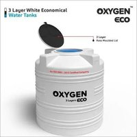 3 Layer White Economical Water Tanks