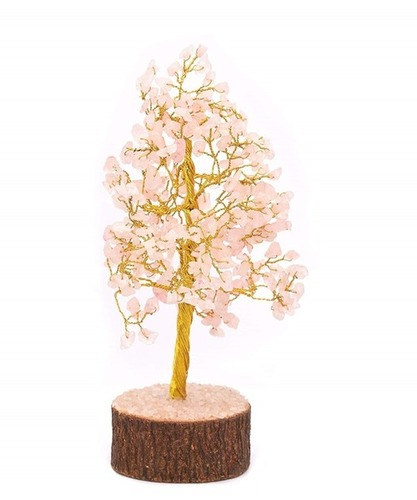 Agate Rose Quartz Tree
