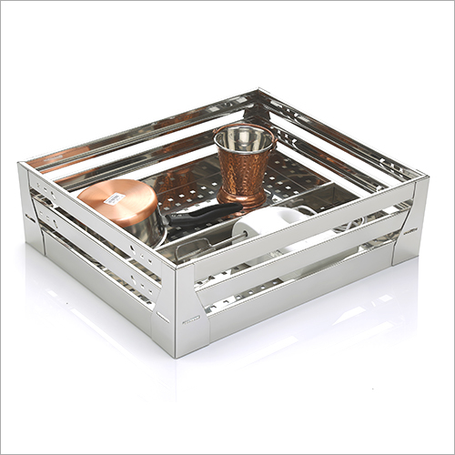 SS Modular Kitchen Storage Basket