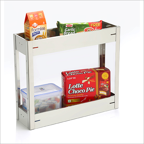 SS Two Tier Kitchen Rack