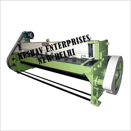 Pneumatic Under Crank Shearing Machine