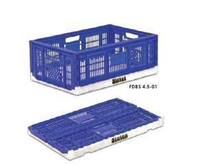 Foldable Plastic Crates