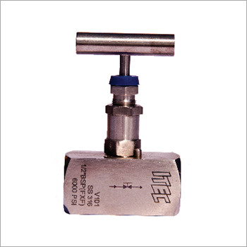 Stainless Steel High Pressure Needle Control Valve