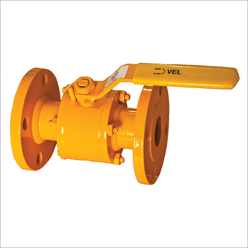 Carbon Steel Three Piece Design Flanged Ball Valve