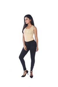 005SL V-CUT CHURIDAR LEGGINGS