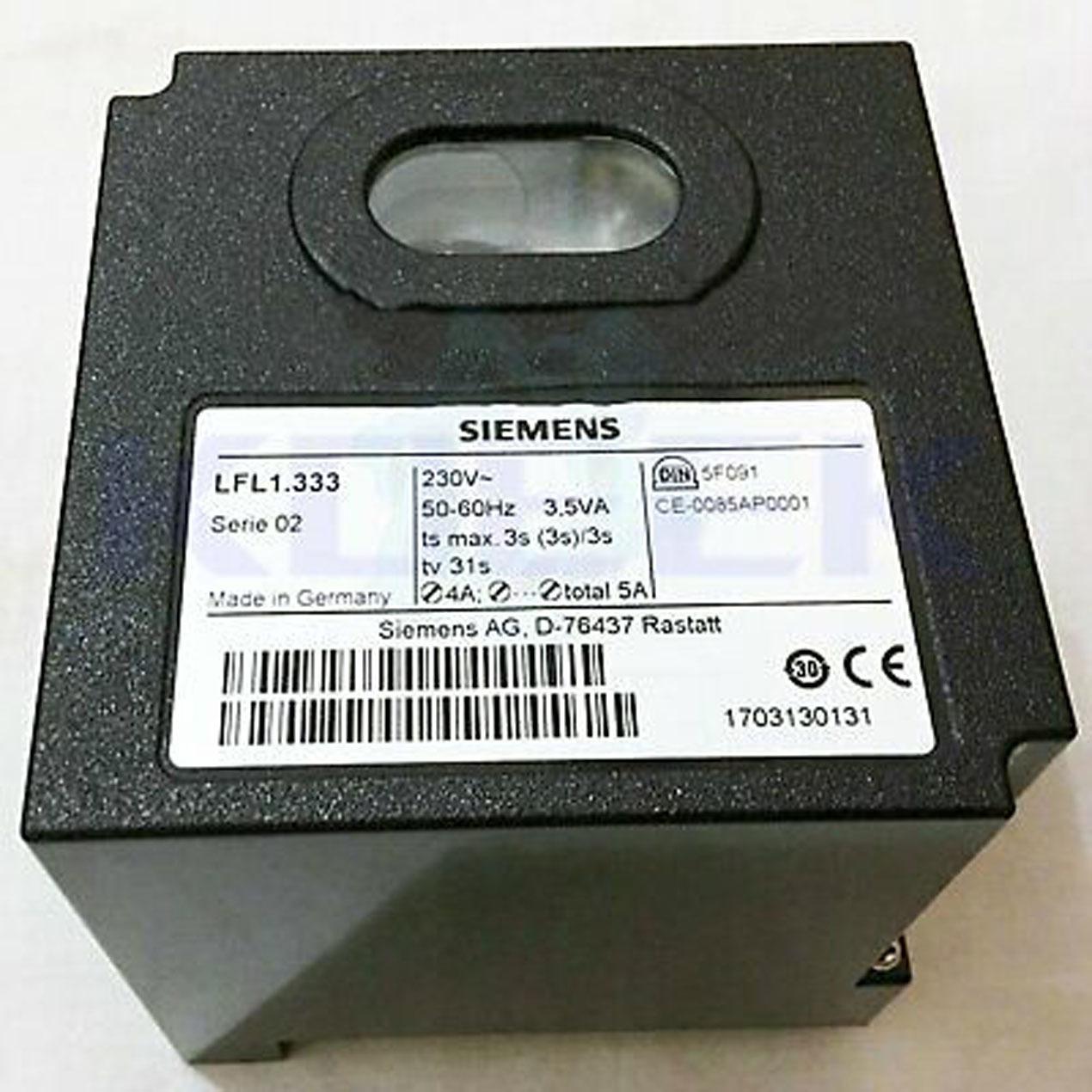 Gas Burner Controller, LFL
