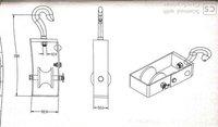 DE Mountable pulley