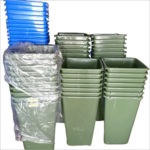 Plastic Commercial Dustbin