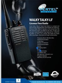 Vertel License free Walky talky