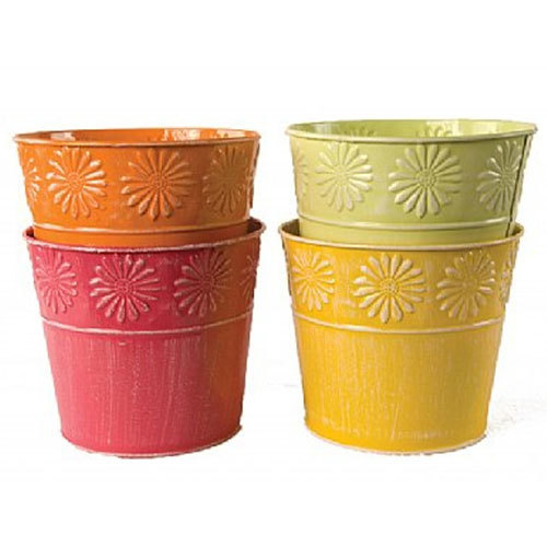 Round Color Planters