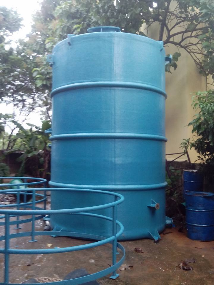 FRP Water Storage Tanks
