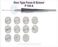 Dorc Type Force & Scissor Vitro Retinal