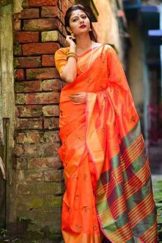 Bangalore Raw Silk Saree