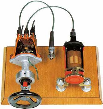 Ignition System Model Cutway