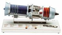 Turbo Engine Model Cutway