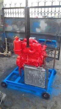 Tractor Engine Running Model