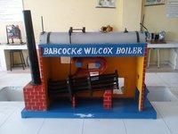 Model Of Babcock & Wilcox Boiler Model