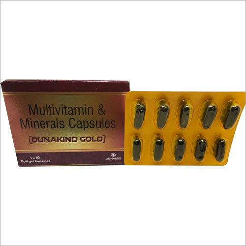 Multivitamin And Minerals Soft Gelatin Capsule