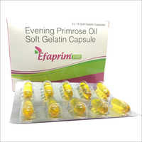Evening Primrose Oil Soft Gelatin Capsule