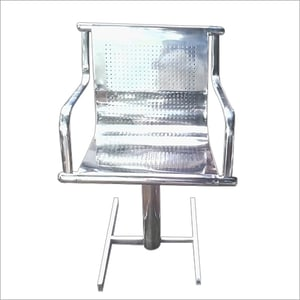 Stainless Steel Perforated Chair