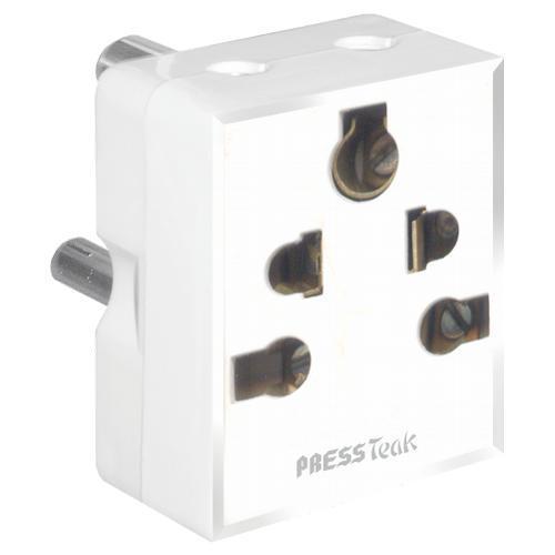 Press Fit Boss 3 Pin Universal Multi Plug Adapter