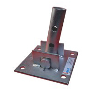 Scaffolding Rocking And Swivel Base Plate