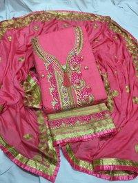 Jam Silk Dress Materials