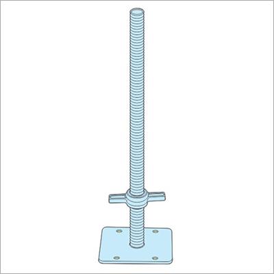 Scaffolding Adjustable Base Jack Plate
