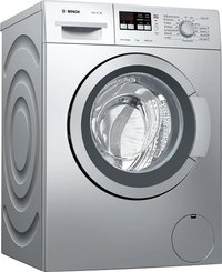 BOSCH Serie 4 Washing machine, front loader7 kg Silver, 1200 rpm