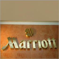 Brass Letters Signage Boards