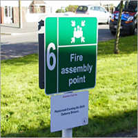 Safety and Fire Exit Signage Boards