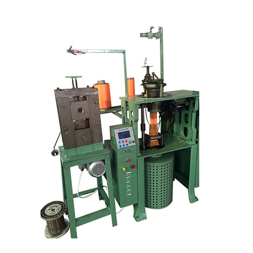 Stainless steel cloth weaving machine