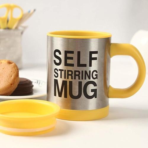 Coffee Mixing Self Stirring Mug