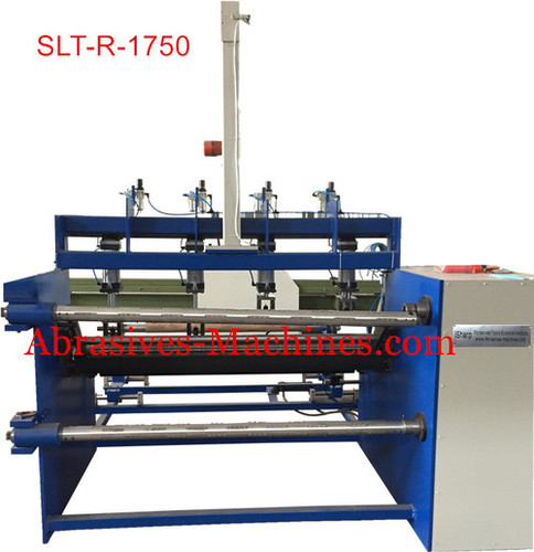 Abrasive roll slitter Machine