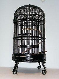 New Design Dometop Black Bird Cage