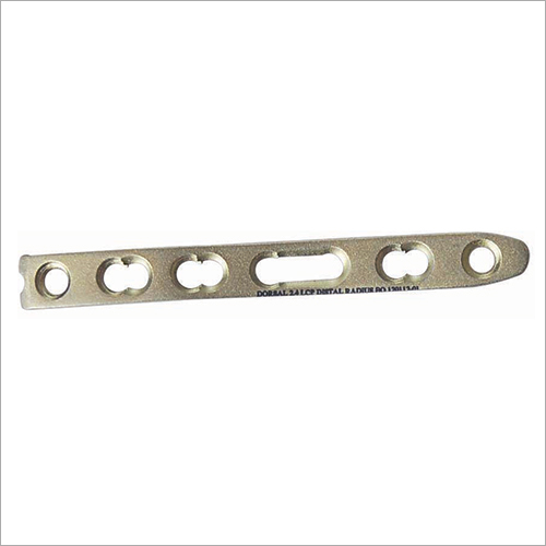 2.4 MM Distal Radius Locking Plate Straight
